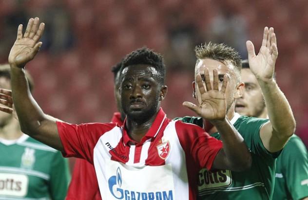Red Star Belgrade defender Abraham Frimpong delighted to make injury return