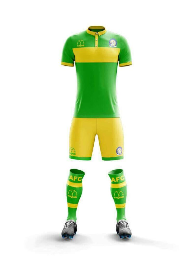 Aduana Stars to wear Mayniak Sportswear kits for next season