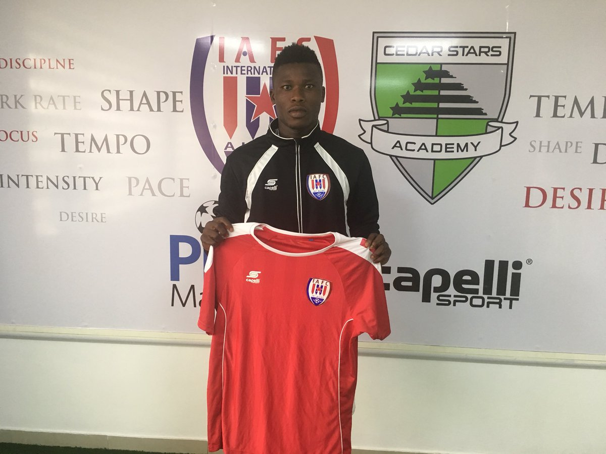 New signing Samuel Armah delighted to sign for Inter Allies