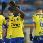 Ghana winger Nana Ampomah inspires Waasland-Beveren to a 2-1 win away at Royal Antwerp