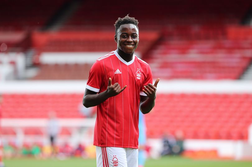 Nottingham Forest youngster Arvin Appiah called up to England's U17 World Cup-winning squad