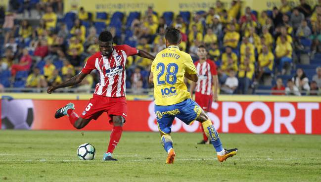 Thomas emerges as Atlético's oasis in the desert