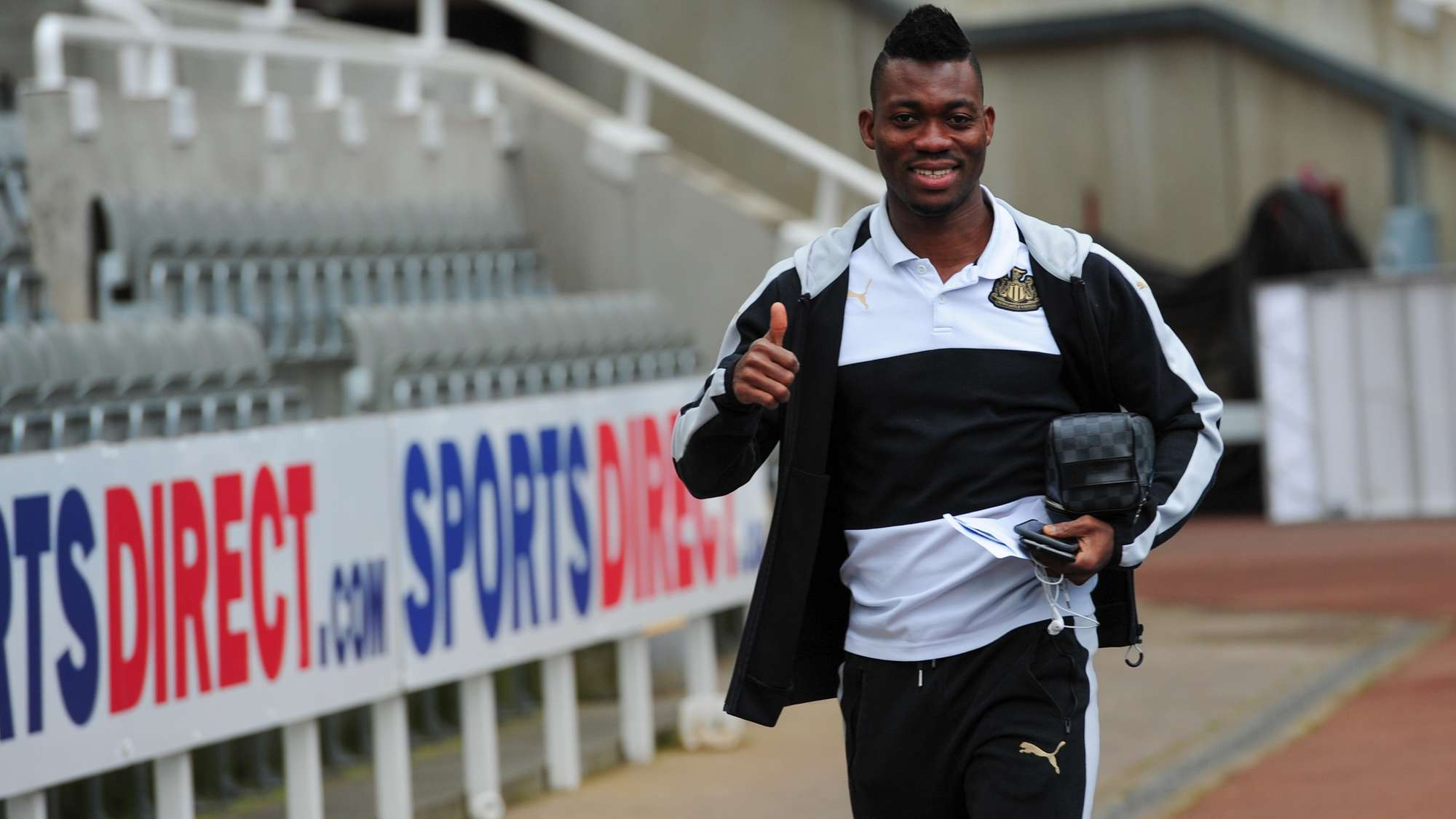 Crocked Christian Atsu making progress, says Newcastle boss Rafa Benitez