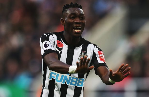 Christian Atsu backs Newcastle United to beat Arsenal at the Emirates