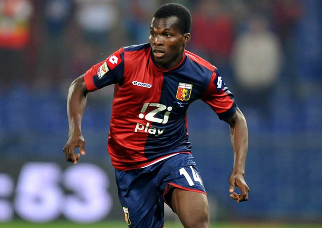 Ghanaian midfielder Isaac Cofie delighted to make Genoa return after recovering from illness