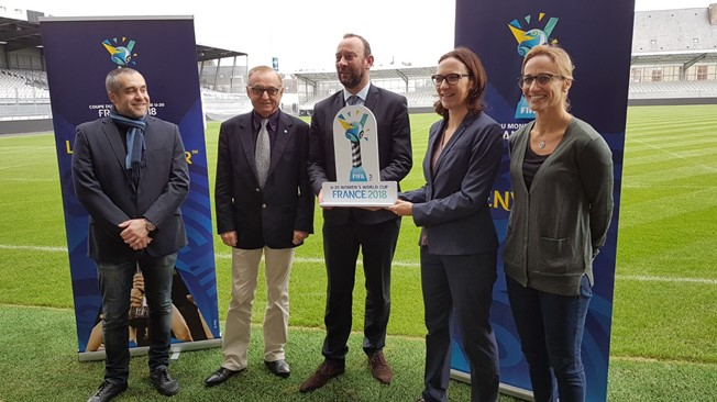 Draw date set at start of stadium visits for FIFA U20 Women's World Cup France
