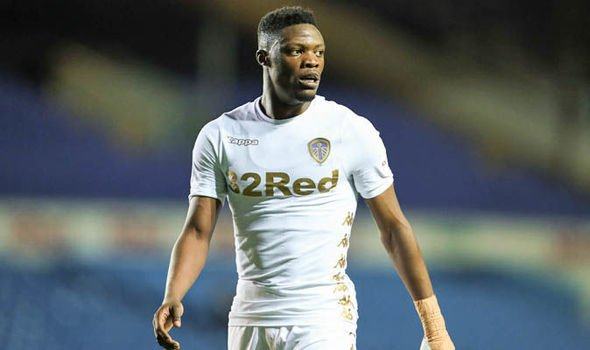 Thomas Christiansen laments to Leeds United striker Caleb Ekuban