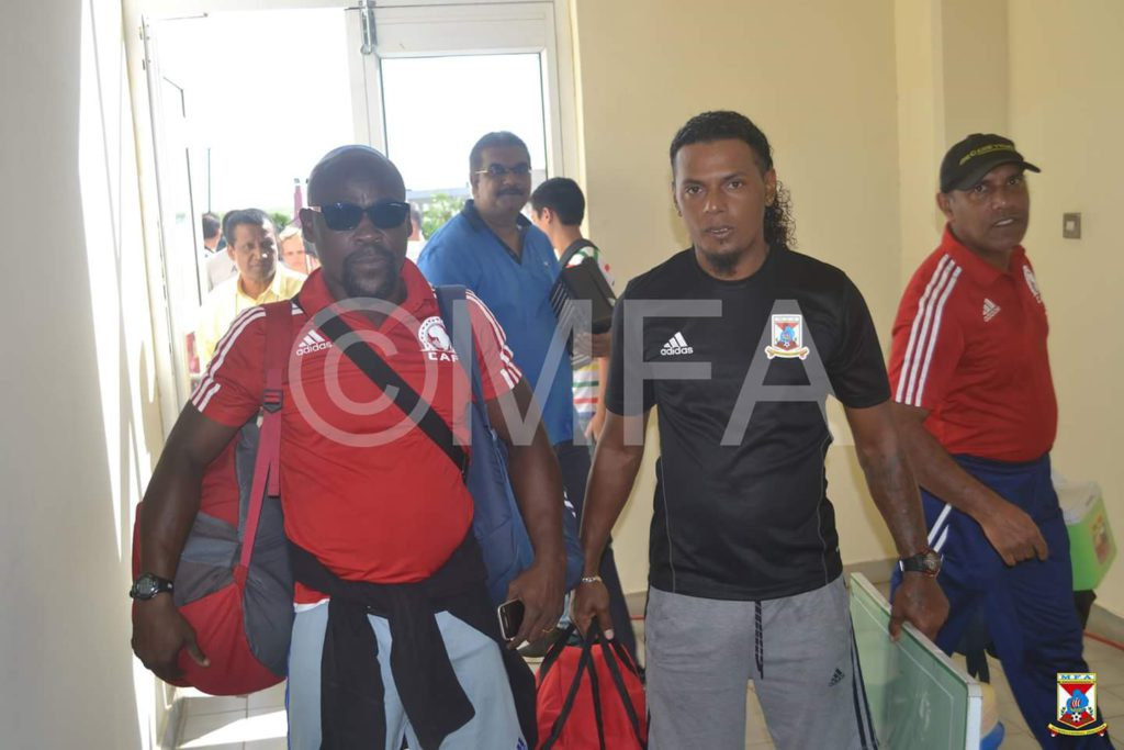 Former Black Queens goalkeepers trainer Cudjoe Addo reveals going to Mauritius for medical attention but ended up coaching their national team