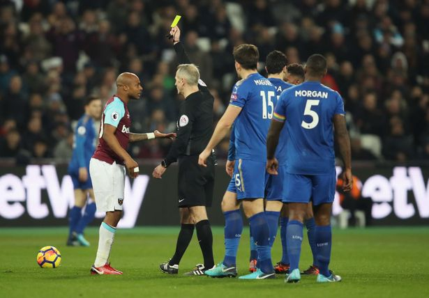 Ex-England captain Shearer wants West Ham star Andre Ayew banned for diving