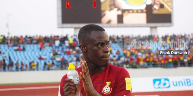 Asamoah Gyan is my role model - Black Stars newboy Edwin Gyasi reveals