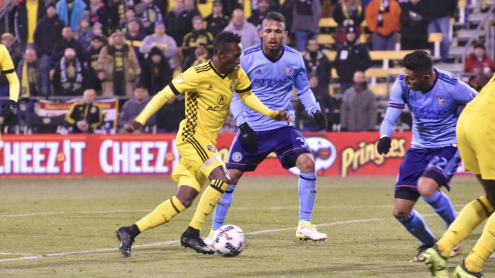 VIDEO: Watch Harrison Afful's super-golazo for Columbus Crew in MLS playoffs semi-final win
