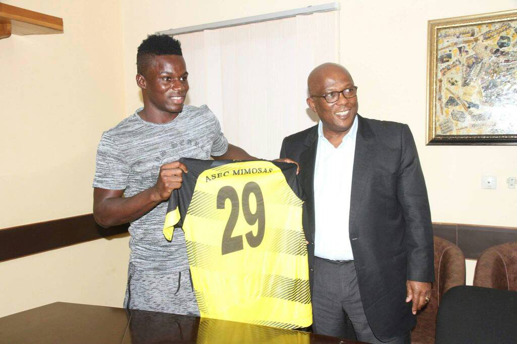 """Newly signed Asec Mimosas striker Amed Toure: """"Asante Kotoko were my first option"""""""