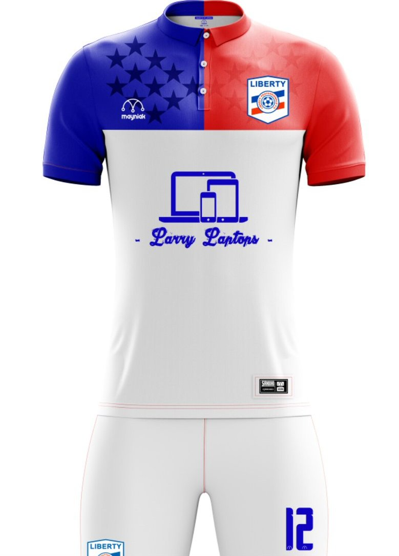 Liberty Professionals kits for 2017/2018 Ghana Premier League season leaked