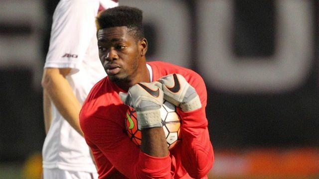Goalkeeper Rashid Nuhu named Player of the Week in NCAA Men's Division
