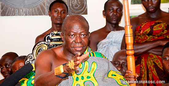 Kotoko owner Otumfuo Osei Tutu II rubbishes claims of being an avid Hearts of Oak fan