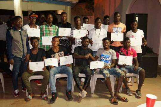 Gothia Cup silver medalists Paga United FC holds awards Gala
