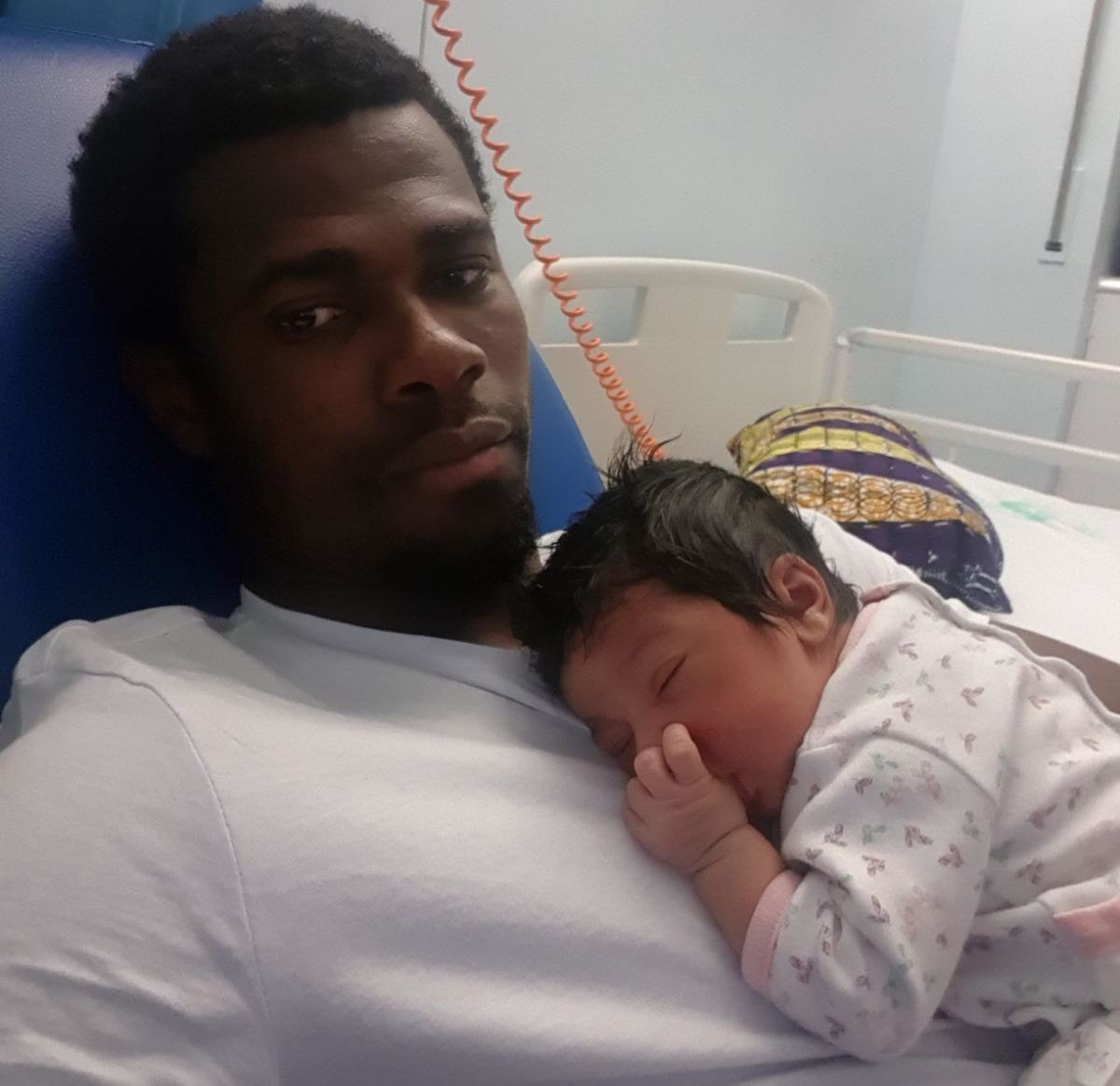 Mamelodi Sundowns goalkeeper Razak Brimah becomes father for the second time as partner delivers baby girl