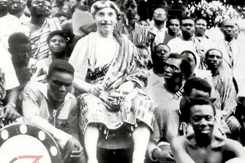Sir Stanley Matthews' family selling off carved African throne which tells amazing story of legend's lasting legacy