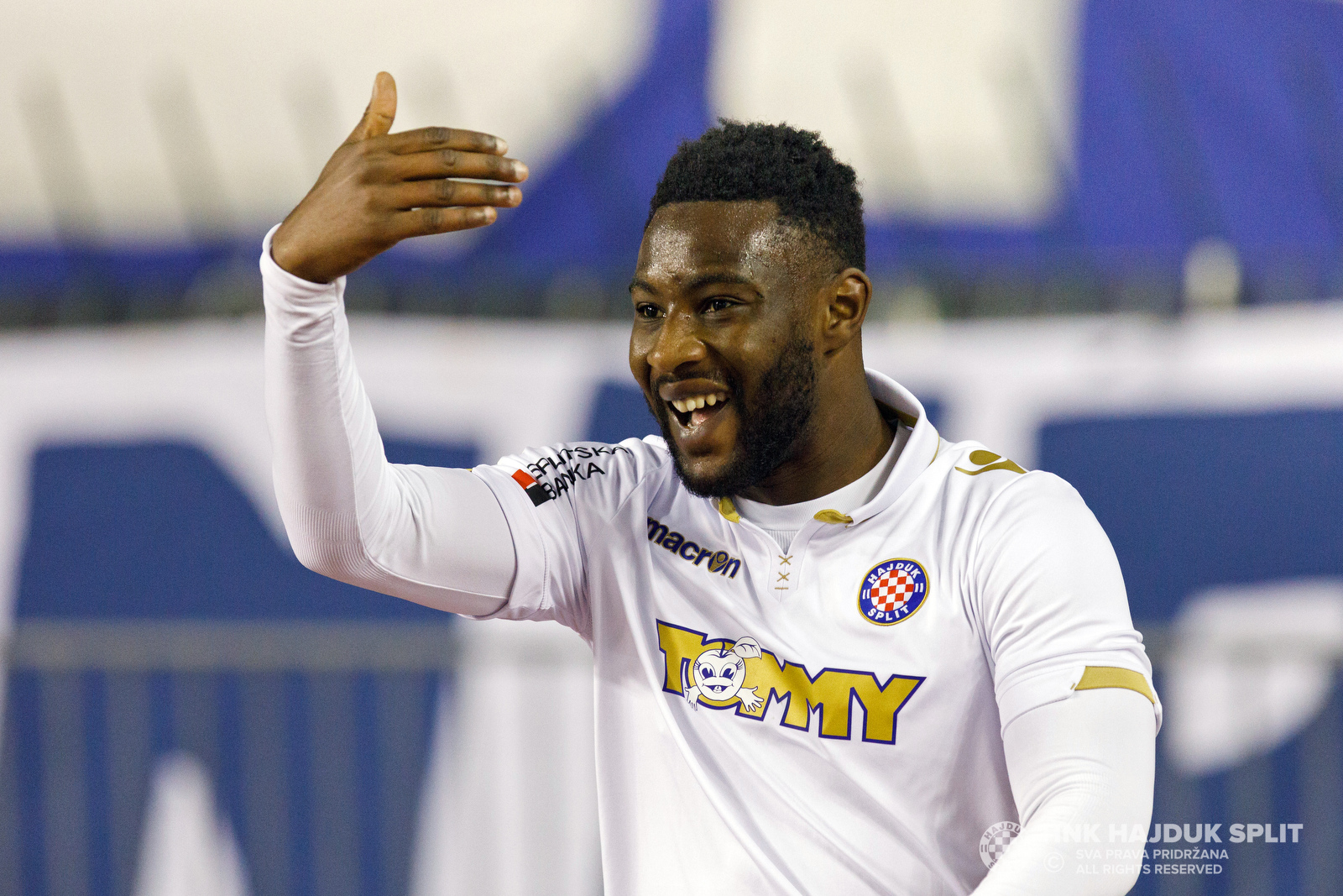 Striker Said Ahmed Said on target as Hajduk Split run rout in Croatia