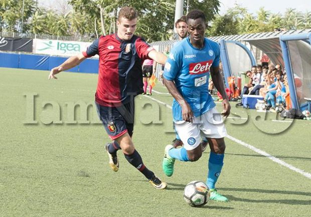 Promising Ghanaian youngster Michael Scarf breaks into Napoli first team
