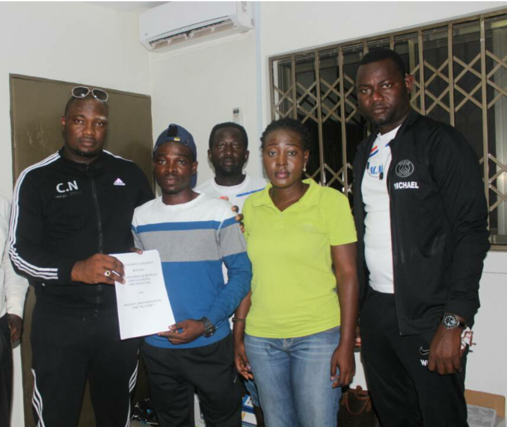 Million Dollar Rental takes up football management, signs on 4 great talents