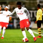 Europa League: Striker Samuel Tetteh congratulates Red Bull Salzburg teammates for winning Group I