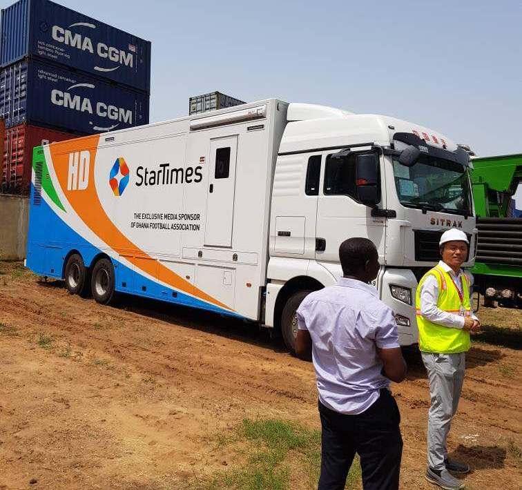 StarTimes OB Van can access all the league centers- Akofa Banson