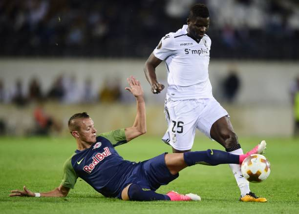 Ghanaian international Alhassan Wakaso sees red in Vitoria Guimaraes heavy 5-0 defeat to Sporting Braga
