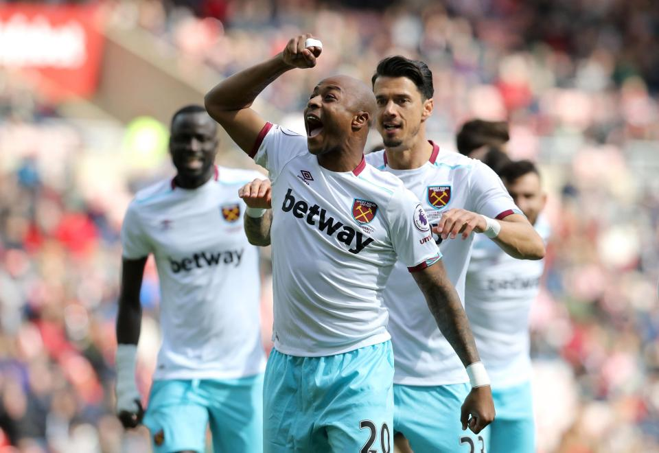 Star player Andre Ayew benched by West Ham in Leicester City clash