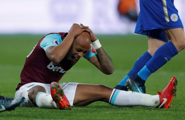 Ex-Tottenham star expects West Ham United star Andre Ayew to be punished for diving