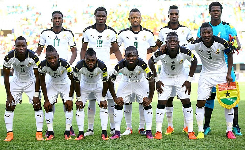 Ghana remain in 54th position in FIFA world ranking; still 8th in Africa