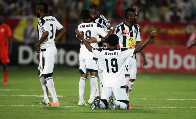 CAF Confederation Cup final: Daniel Nii Adjei gives TP Mazembe first leg win over SuperSport United; Solomon Asante cameos