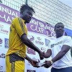 Aduana Stars striker Derrick Sasraku rates Atinga and Musah as the toughest defenders he faced last season