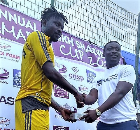 Aduana Stars striker Derrick Sasraku rates Atinga and Musah as the toughest defenders he faced last season