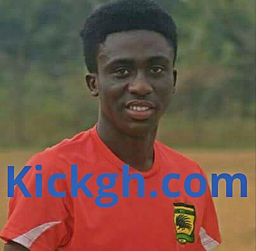 Asante Kotoko promote youth team star Douglas Owusu-Ansah Jr to senior side