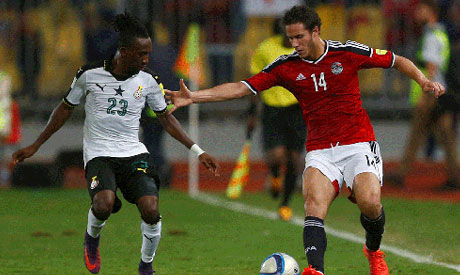 Re-live: Ghana 1-1 Egypt : 2018 FIFA World Cup Qualifier