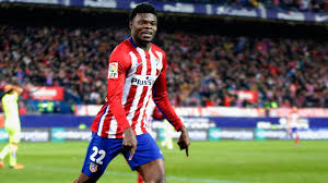 Champions League: Versatile Thomas Partey stars as right back as Atletico Madrid edge AS Roma at home