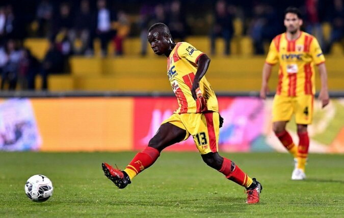 Rahman Chibsah loaned out to Frosinone by Benevento till end of season