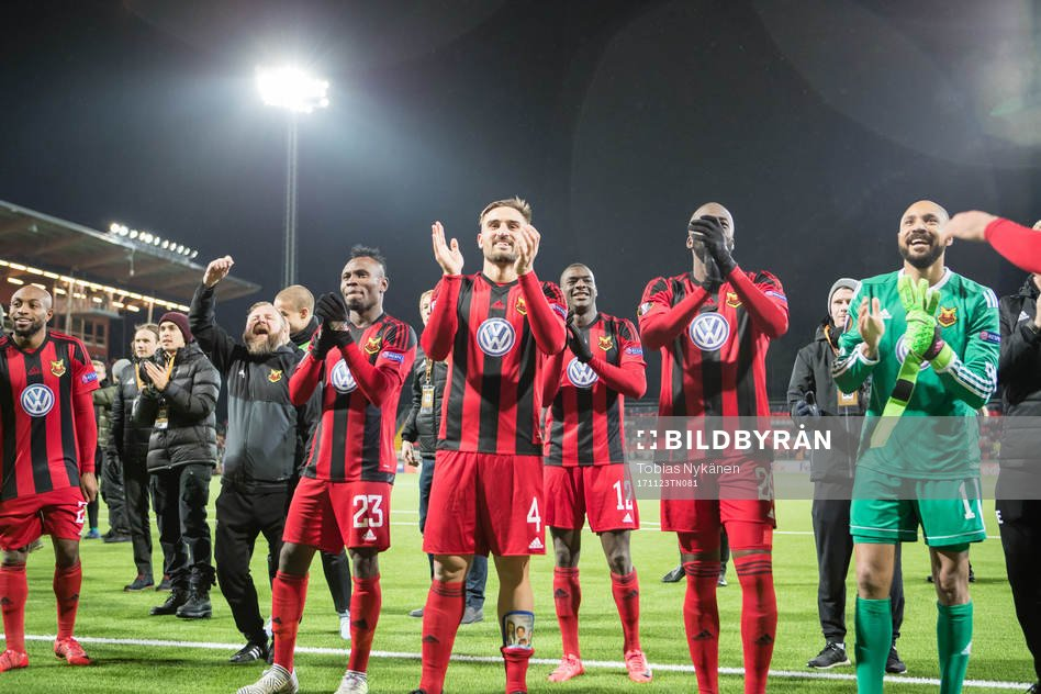 Samuel Mensah elated with Ostersund FK Europa League second round qualification