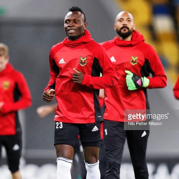 Europa League: Samuel Mensah's Ostersund close to securing historic round of 32 berth