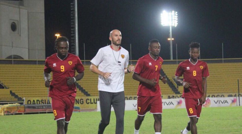 EXCLUSIVE: Black Stars B trio Stephen Sarfo, Felix Addo and Gideon Waja on trials at Kuwaiti side Qadsia
