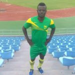 Former Dwarfs defender Isaac Kwain training with Karela FC on pre-season in Ivory Coast