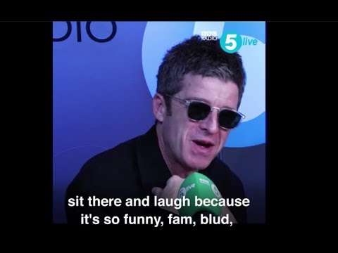 Noel Gallaghers thought on ArsenalFanTV