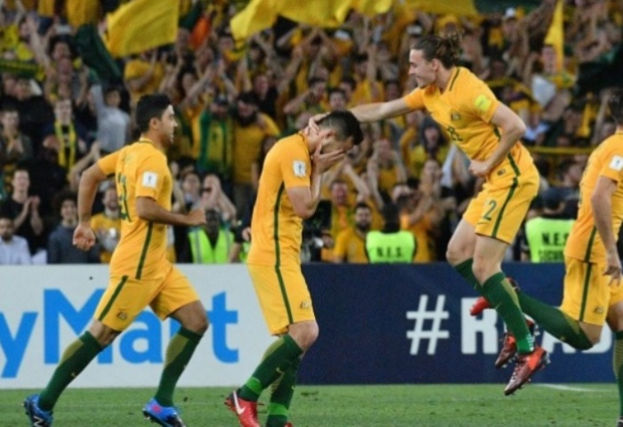 FIFA World Cup 2018 Draw - Fans View: Australia