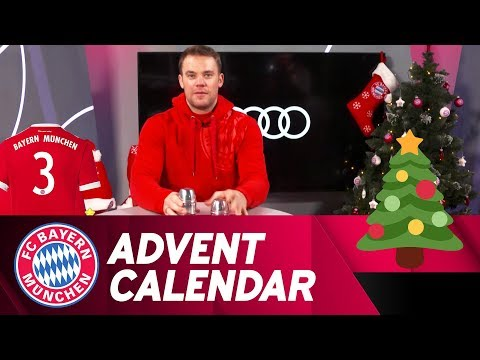 Shell Game w/ Manuel Neuer - Where are the car keys? | FC Bayern Xmas Advent Calendar #3