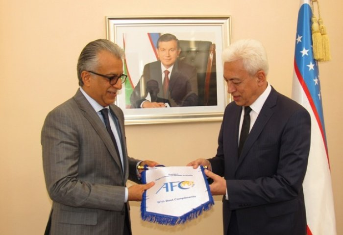 Shaikh Salman confident more success awaits Uzbekistan Football Federation