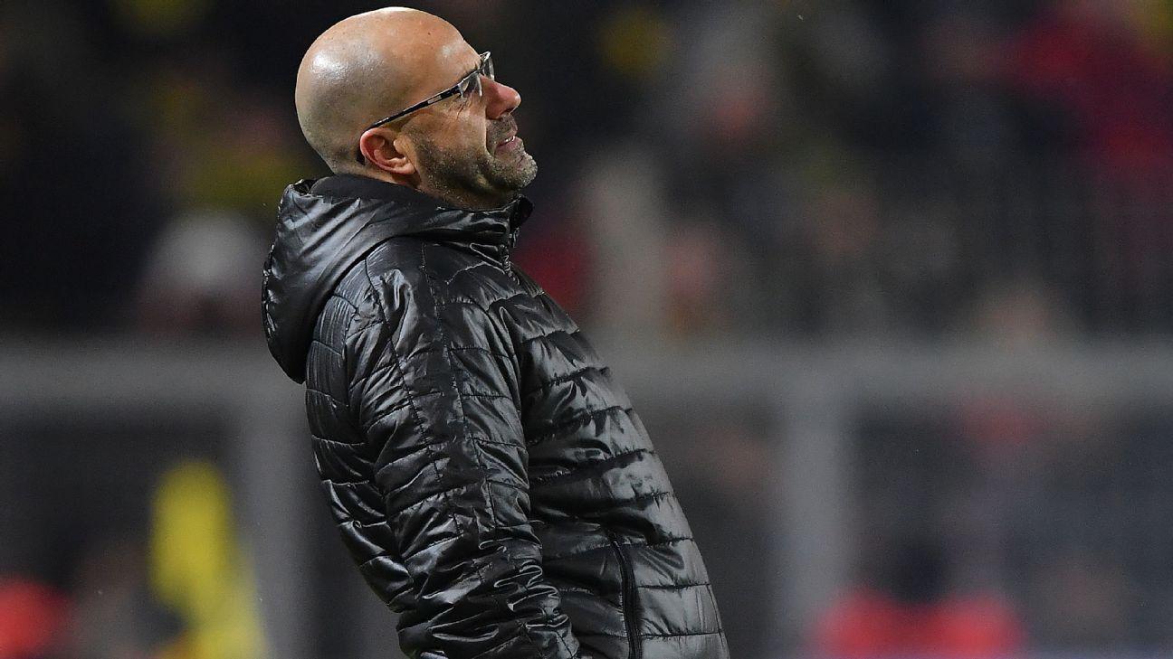 Borussia Dortmund sack coach Peter Bosz; Peter Sr appointed ... on theo bos, john bosman, rob witschge, laurent fournier, adri van tiggelen, ed de goeij, frans adelaar, peter van vossen, stuart mccall, rob mcdonald, eric jones, henk van stee, john van loen, stanley menzo, stan valckx, berry van aerle, gerald vanenburg, samuel armenteros, theo de jong, gertjan verbeek,