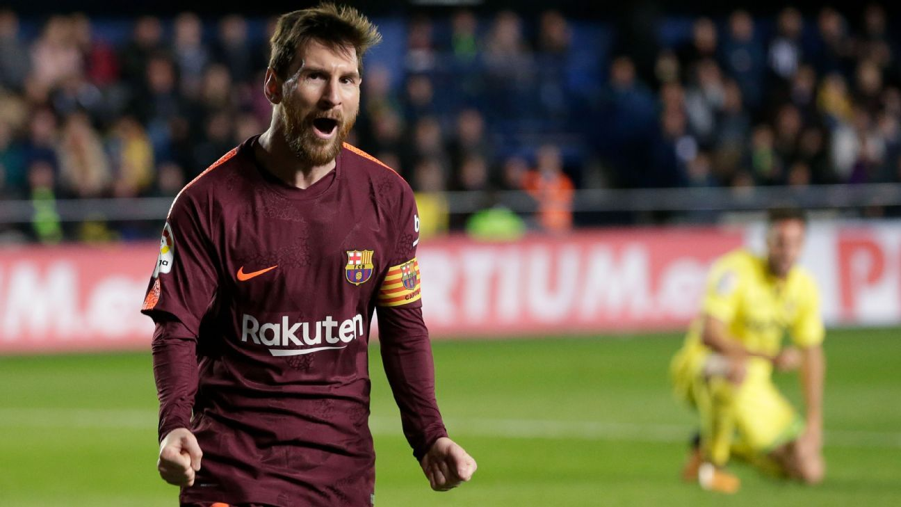 Messi milestone as Barca maintain lead; Atletico jump Real Madrid