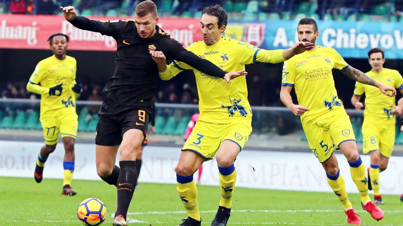 Missed chance by Gerson part of rough day for Roma against Chievo