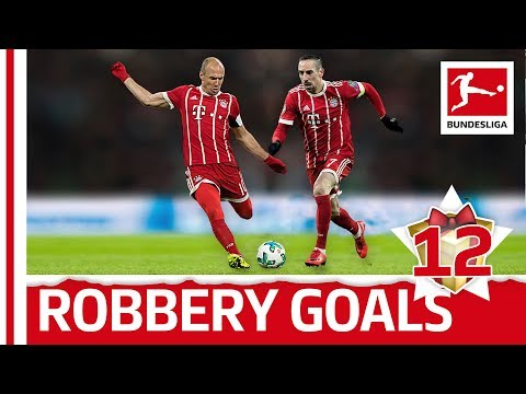 Robbery - Top 5 Goals - Bundesliga Advent Calendar 12